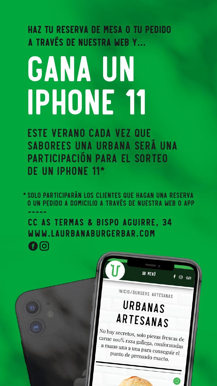 Bases Legales de Sorteo de un Iphone 11)