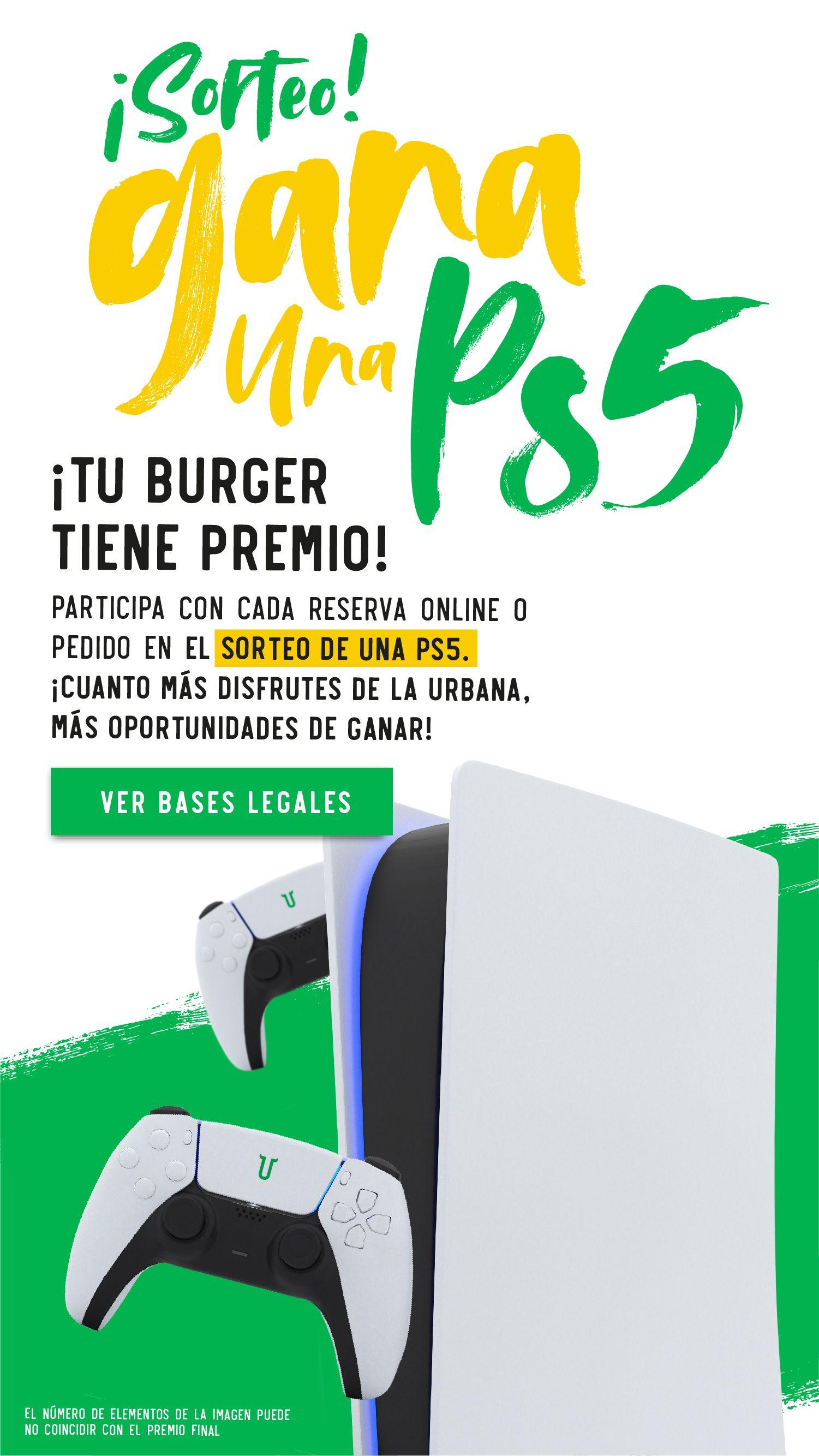 Bases Legales del Sorteo de una PS5)